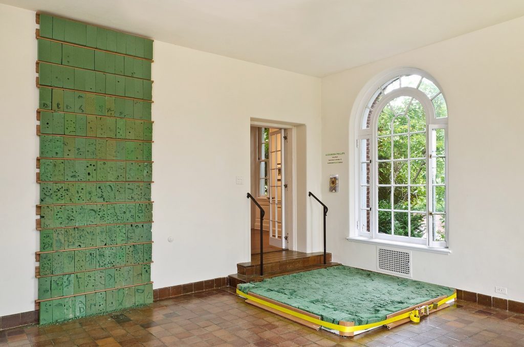 Temp Work, Floor and Wall