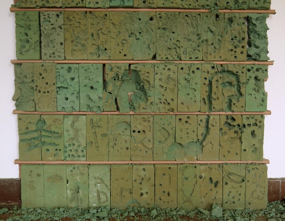 Temp Work Wall detail